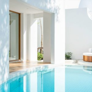Thailand Honeymoon Packages SALA Samui Chaweng Beach Resort Garden 1BR Duplex Pool Suite