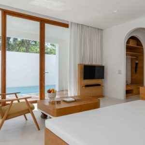 Thailand Honeymoon Packages SALA Samui Chaweng Beach Resort Garden 1BR Duplex Pool Suite1