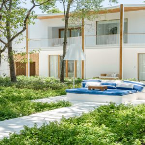 Thailand Honeymoon Packages SALA Samui Chaweng Beach Resort Garden Exterior