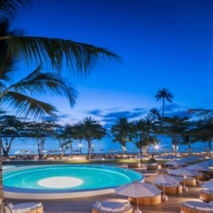 Thailand Honeymoon Packages SALA Samui Chaweng Beach Resort Moon Swimming Pool 1
