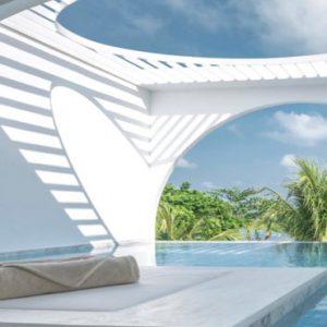Thailand Honeymoon Packages SALA Samui Chaweng Beach Resort Oceanfront Balcony Pool Suite