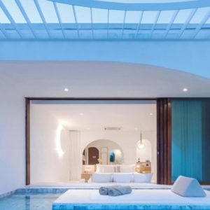 Thailand Honeymoon Packages SALA Samui Chaweng Beach Resort Oceanfront Balcony Pool Suite2