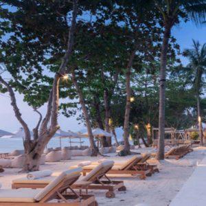 Thailand Honeymoon Packages SALA Samui Chaweng Beach Resort Private Beach BBQ