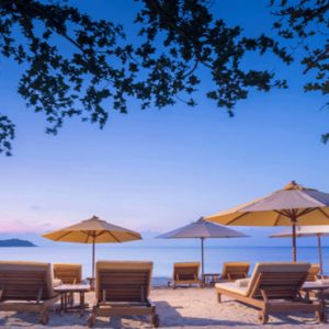 Thailand Honeymoon Packages SALA Samui Chaweng Beach Resort Private Beach BBQ1