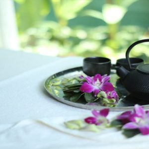 Thailand Honeymoon Packages SALA Samui Chaweng Beach Resort SALA Spa Tea