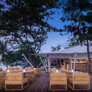 Thailand Honeymoon Packages SALA Samui Chaweng Beach Resort The Tent Beachfront Restaurant And Bar1