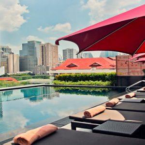Thailand Honeymoon Packages U Sukhumvit Bangkok Rooftop Pool1
