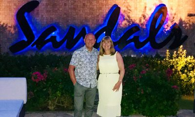 Timothy & Paula's 10 Year Wedding Anniversary at Sandals Royal Barbados