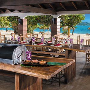 Beach Weddings Abroad Jamaica Weddings Dining 2