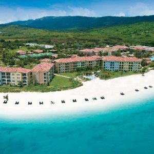 Beach Weddings Abroad Sandals South Coast Ariel View