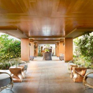 Hawaii Honeymoon Packages Four Seasons Resort Lanai Entrance Walkway