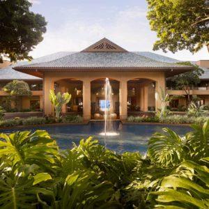 Hawaii Honeymoon Packages Four Seasons Resort Lanai Hotel Entrance