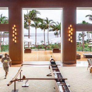 Hawaii Honeymoon Packages Four Seasons Resort Lanai Lobby Bar