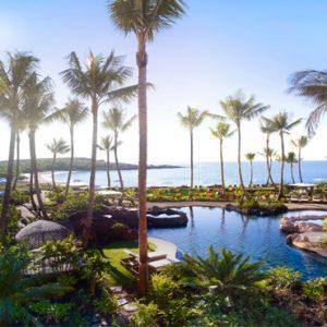 Hawaii Honeymoon Packages Four Seasons Resort Lanai Pool Overview
