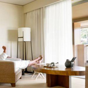 Hawaii Honeymoon Packages Four Seasons Resort Lanai Spa Couples Suite1