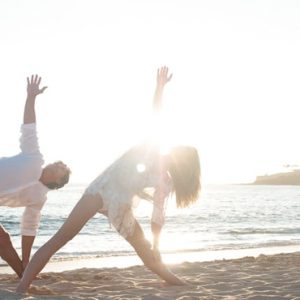 Hawaii Honeymoon Packages Four Seasons Resort Lanai Yoga On The Beach