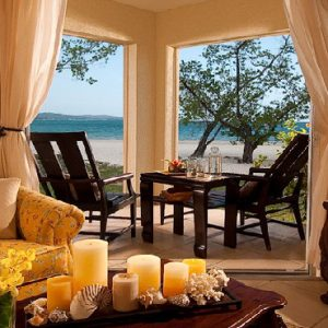 Jamaica Honeymoon Packages Sandals South Coast Honeymoon Romeo & Juliet Beachfront Walkout Club Level Suite1