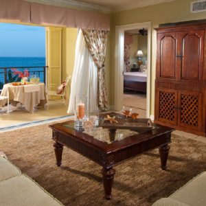 Jamaica Honeymoon Packages Sandals South Coast Penthouse Beachfront One Bedroom Butler Suite2