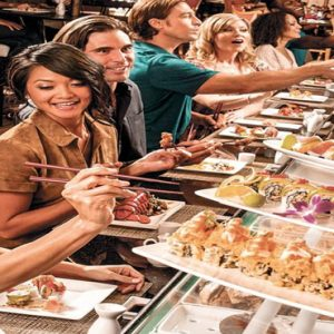 Las Vegas Honeymoon Packages Luxor Hotel & Casino Buffet Food