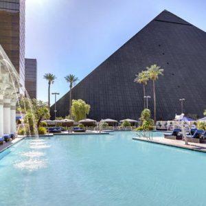 Las Vegas Honeymoon Packages Luxor Hotel & Casino Pool1
