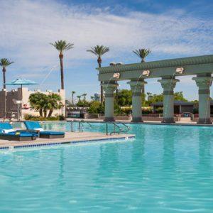 Las Vegas Honeymoon Packages Luxor Hotel & Casino Pool2