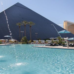 Las Vegas Honeymoon Packages Luxor Hotel & Casino Pool3