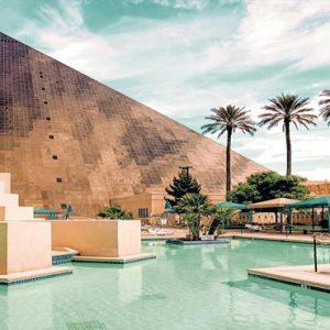 Las Vegas Honeymoon Packages Luxor Hotel & Casino Pool5