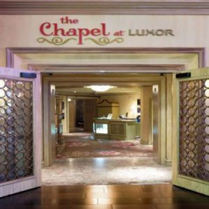 Las Vegas Honeymoon Packages Luxor Hotel & Casino Wedding Chapel