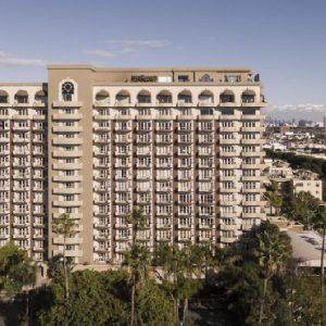 Los Angeles Honeymoon Packages Four Seasons Los Angeles Aerial View