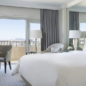 Los Angeles Honeymoon Packages Four Seasons Los Angeles Deluxe Balcony Room