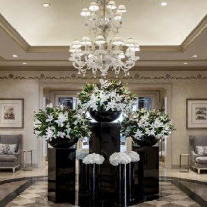 Los Angeles Honeymoon Packages Four Seasons Los Angeles Lobby