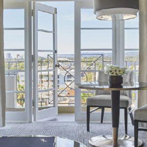 Los Angeles Honeymoon Packages Four Seasons Los Angeles Luxury Suite2
