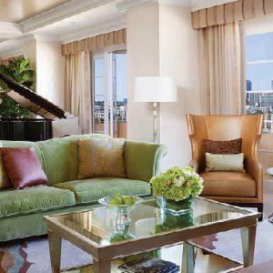 Los Angeles Honeymoon Packages Four Seasons Los Angeles Presidential Suite West2