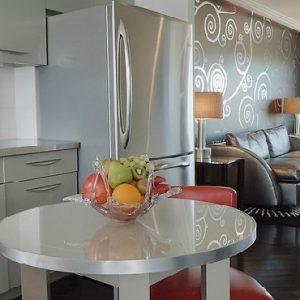 Los Angeles Honeymoon Packages Hotel Shangri La At The Ocean Ocean View Suite With Full Gourmet Kitchen
