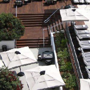 Los Angeles Honeyoon Packages Hotel Shangri La At The Ocean Aerial View