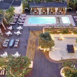 Los Angeles Honeyoon Packages Hotel Shangri La At The Ocean Aerial View1
