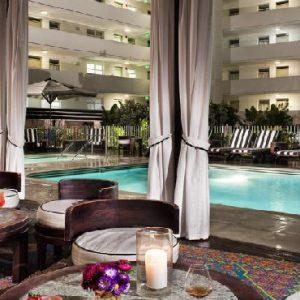 Los Angeles Honeyoon Packages Hotel Shangri La At The Ocean Pool Area