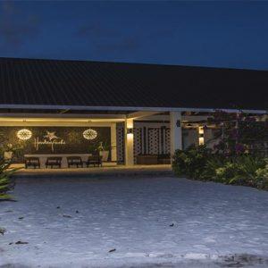 Maldives Honeymoon Packages Hondaafushi Island Resort Hotel Exterior At Night