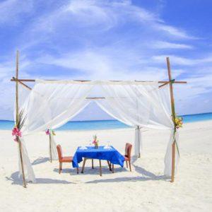 Maldives Honeymoon Packages Hondaafushi Island Resort Private Beach Dining