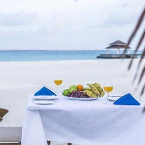 Maldives Honeymoon Packages Hondaafushi Island Resort Private Beach Dining1