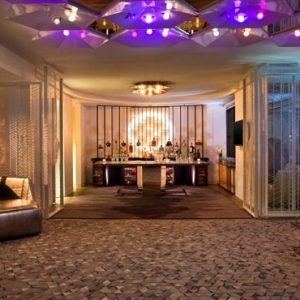 New York Honeymoon Packages W New York Times Square EWOW Reception Setup