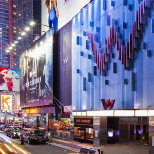New York Honeymoon Packages W New York Times Square Hotel Exterior