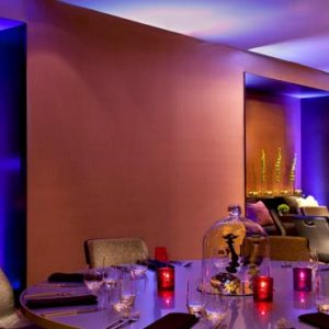 New York Honeymoon Packages W New York Times Square Studio Banquet Setup