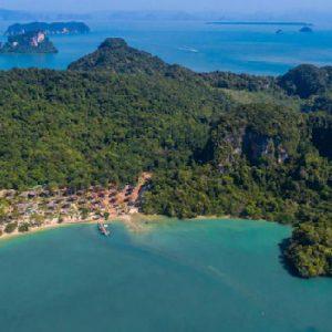Phuket Honeymoon Packages TreeHouse Villas Aerial View2