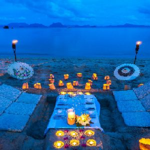 Phuket Honeymoon Packages TreeHouse Villas Candle Light Dinner