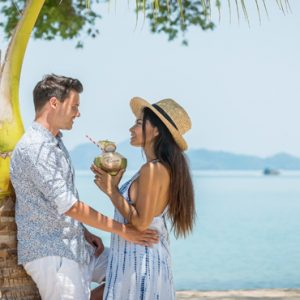 Phuket Honeymoon Packages TreeHouse Villas Couple At Beach