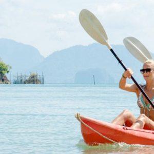Phuket Honeymoon Packages TreeHouse Villas Couple Kayaking