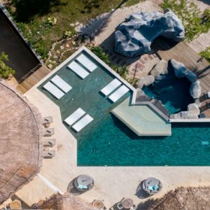 Phuket Honeymoon Packages TreeHouse Villas Clubhouse Aerial View