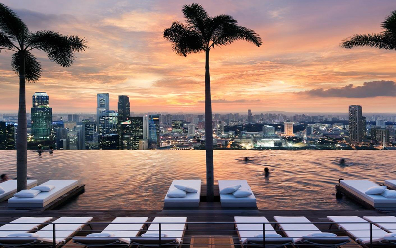 10 Best Places To See The Sun Set Around The World Blog Marina Bay, Singapore
