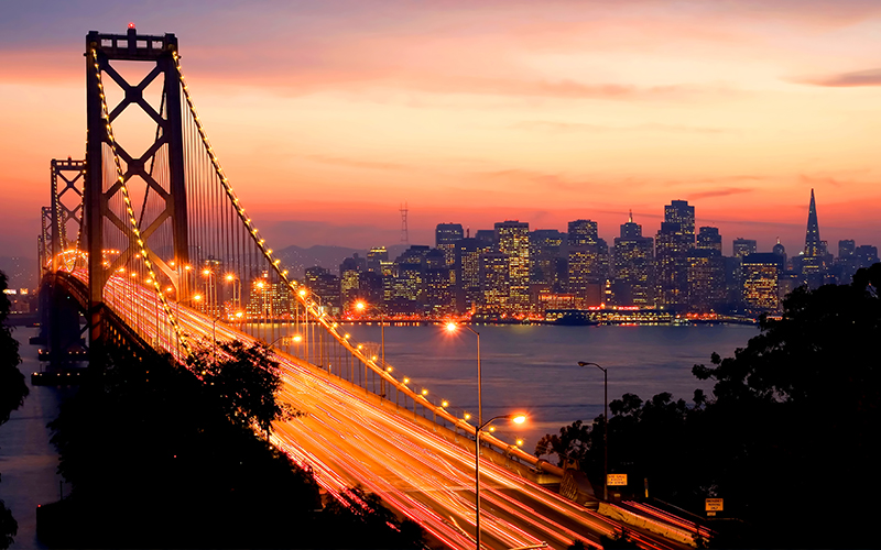 10 Best Places To See The Sun Set Around The World Blog San Francisco, USA
